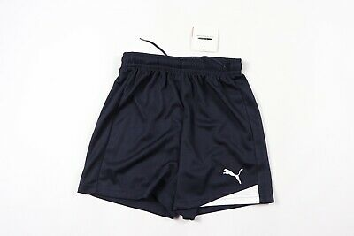 New Puma Youth XL Esito Athletic Polyester Running Gym Soccer Shorts Blue