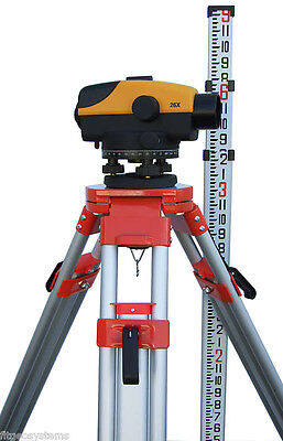 Northwest NCL 22x Auto Level Package with Tripod & Level Rod