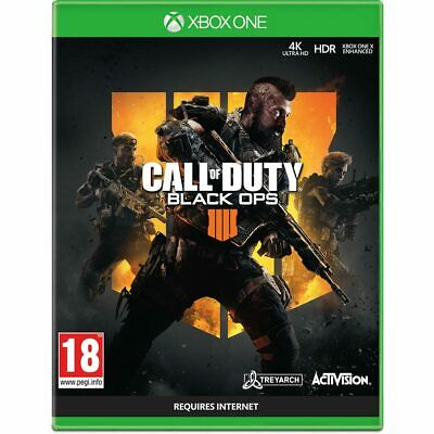 Call of Duty BLACK OPS 4 IIII - XBOX ONE (CoD) - BRAND NEW AND SEALED