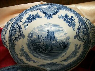"""Reduced Johnson Bros. Old Britain Castles )8  Tab Handle 6"""" Cereal Bowls"""