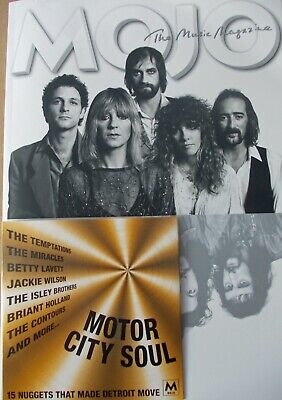 MOJO MAGAZINE LATEST ISSUE with CD - MAY 2019 - Fleetwood Mac, Motown, Joy Div