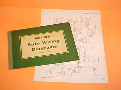 1957 1958 1959 1960 Lincoln Continental Mark Ii Iv V Convertible Wiring Diagrams 24 99 Picclick