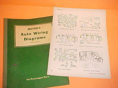 1957 1958 1959 1960 Ford Fairlane Sunliner Skyliner Convertible Wiring Diagrams