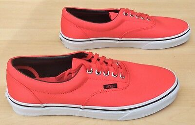"""VANS Era (MLX) """"Off the Wall"""" Cayenne W3CEC5 Unisex Trainers NEW"""