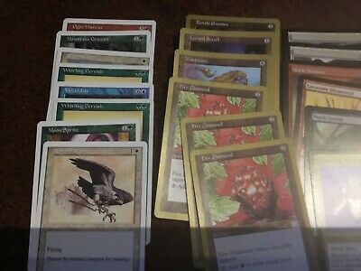 Magic the gathering MTG CCG - small assorted deck - played