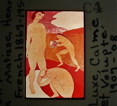 Lot of 32 Henri Matisse (French, 1869-1954) Drawings & Paintings in 35mm Slides