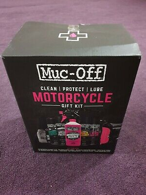 Muc-Off Motorcycle 9 Pieces Gift Pack Motorbike Care And Cleaning Shine Kit