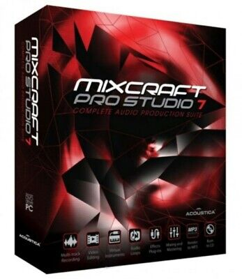 Acoustica Mixcraft 7 PRO Studio Music Production Software | Licence Key