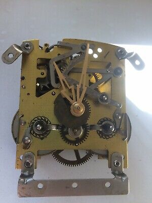 Smiths Enfield 8 Day Clock Movement With Pendulum, Hands & Chime, Fully Working.