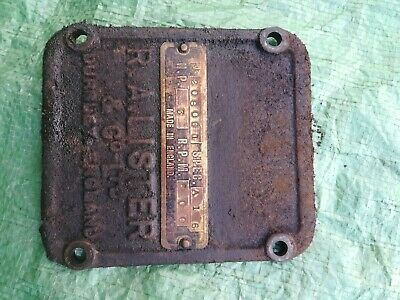 Lister A Type Crankcase Door, Stationary Engine