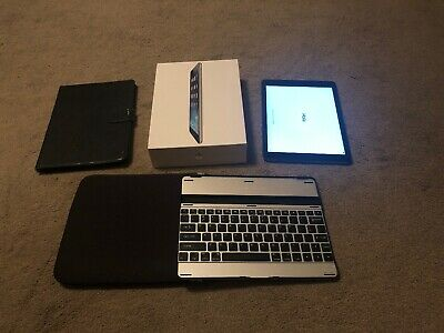 Apple iPad Air, 16GB, Wi-Fi + Cellular (Unlocked), 9.7in - Space Grey, Boxed +++