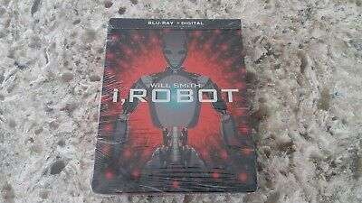 I, Robot Blu Ray Steelbook - New & Factory Sealed!