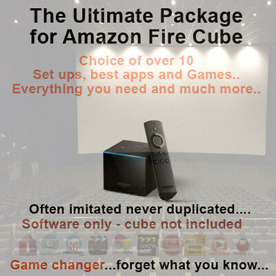 Amazon Fire TV Cube Remote Install & Upgrade Service IPTV & VPN available too