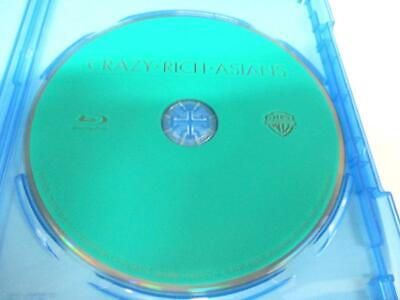 Crazy Rich Asians (Blu-ray Disc, 2018) 1 Disc Only Never Viewed NO CASE