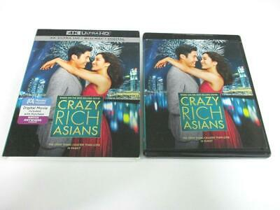 Crazy Rich Asians (Blu-ray 4K UHD, 2018) 1-Disc NO CASE/Digital Quick Ship!