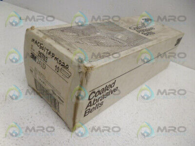 3M 241D Coated Abrasive Belts *New In Box*