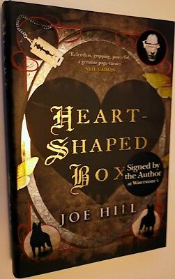 The Heart-Shaped Box SIGNED by Joe Hill 1st Edition, 1st Printing thus