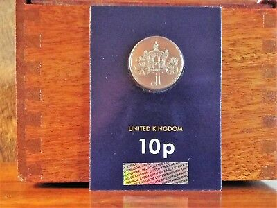 NEW - 2019 10p New A-Z Certified Ten Pence Coin in Pack - J - Jubilee