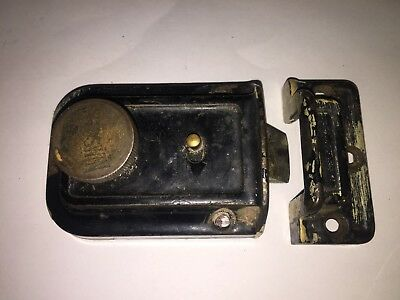 Antique Thumb Door Latch Lock Russwin 4265