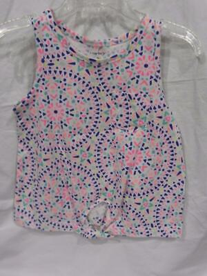 NWT Gymboree TINY TEAL Ivory Confetti Print Sweetie Bird L//S Bodysuit Top