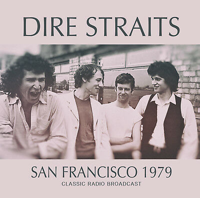 DIRE STRAITS New Sealed 2019 UNRELEASED LIVE 1979 SAN FRANCISCO CONCERT CD