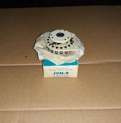 ( NOS ) Centralab Power Switch Section JVN-9  3 POL 2.5 POS Non-Shorting