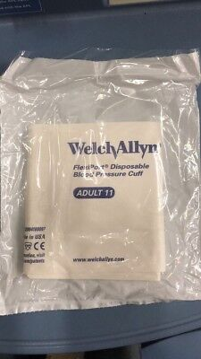 Box of 20 Pieces Welch Allyn FlexiPort Disposable Blood Pressure Cuff Adult 11
