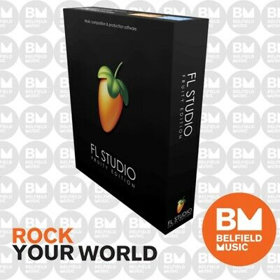 Image Line Fruity Loops FL Studio 20 (Fruity Edition) - Brand New