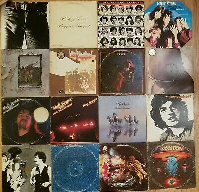 52 x LP Classic Rock CLEAN! VG+ Collection vinyl RECORD lot 60-80s Beatles FLOYD