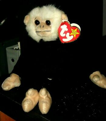 382cc90a175 TY BEANIE BABY Mooch The Spider Monkey Mint With Mint Tag 8-1-98 ...