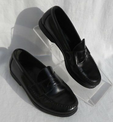 ff672098607 SPERRY TOP-SIDER Women s Black Leather Classic Penny Loafers Shoes size US  5 5M