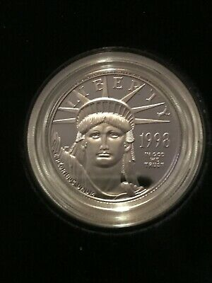 1997 W $50 US Mint American Eagle, Lighthouse One-Half Ounce Proof Platinum Coin