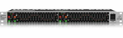 Behringer FBQ1502HD High Definition 15-Band Stereo Graphic Equalizer Mint!