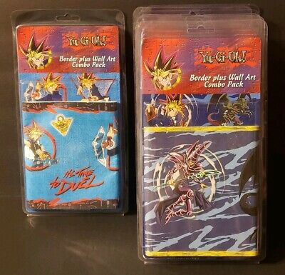 Yu-Gi-Oh! Border Plus Wall Art Combo Packs Lot Of 8..New Sealed 1996