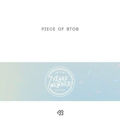 BTOB - Piece of BTOB 7CD+7Booklets+Double Side Extra Photocards Set+Tracking no.