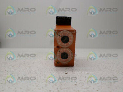 Syrelec Bdru110A Timer Relay *Used*