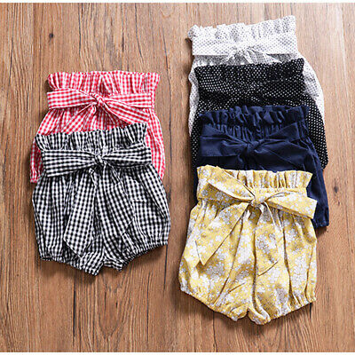 Casual Newborn Infant Baby Boy Girl Kids Pants Shorts Bottoms PP Bloomer Panties