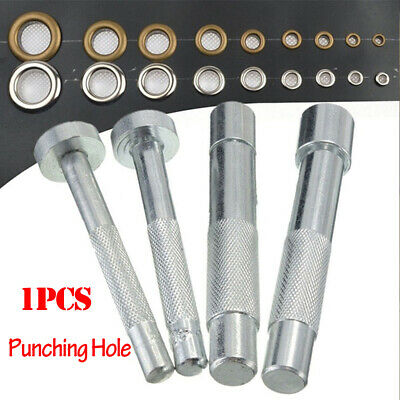 Eyelet Punch Die Tool Hole Cutter Set Rivet Snap Button Setter Die Craft Tool