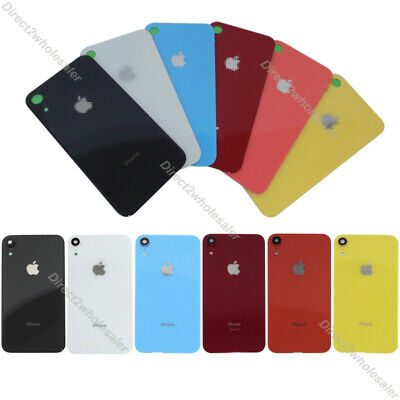 """Battery Back Door Glass Cover With Camera Lens Cover + Tape For iPhone XR 6.1"""""""