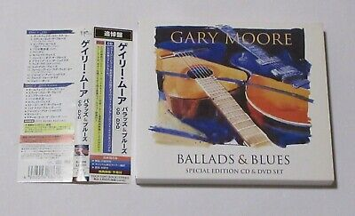 Gary Moore Ballads And Blues Japan Cd+Dvd