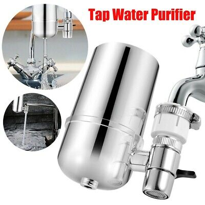 Water Filter For Kitchen Sink Or Bathroom Faucet Mount Filtration Tap Purifier A