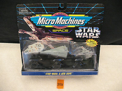Micro Machines 65886 Collection #1 STAR WARS A NEW HOPE *NEW* 1994 Galoob