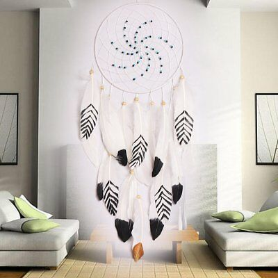 White Cotton Dream Catcher Hand Made Fairy Wall Hanging Decoration