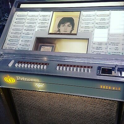 Working 60s Rockola Princess Jukebox
