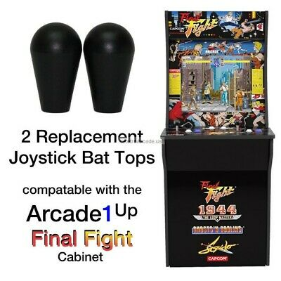 Arcade1up Final Fight, Rampage, Jamma, MAME, 2 Joystick Bat Top Handles, New