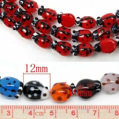 Blue And Gold Ink Spots Wholesale 8mm Round Glass Beads G2564-20 50 Or 100PCs