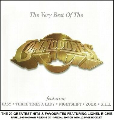 The Commodores - Very Best 20 Greatest Hits Collection - Motown Lionel Richie CD
