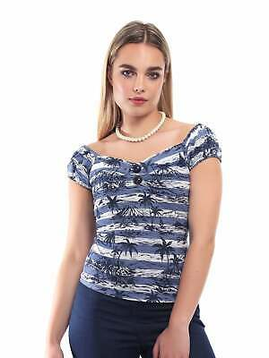 Collectif Vintage Dolores Mahiki Top