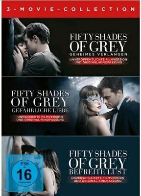 DVD Fifty Shades of Grey - 3 Movie Collection