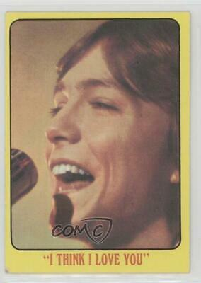 1971 Topps Partridge Family Yellow Border #10 I Think Love You Card j9z